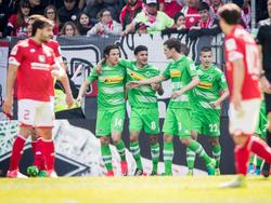 Gladbach schnuppert nach dem Sieg in Mainz weiterhin am Europacup