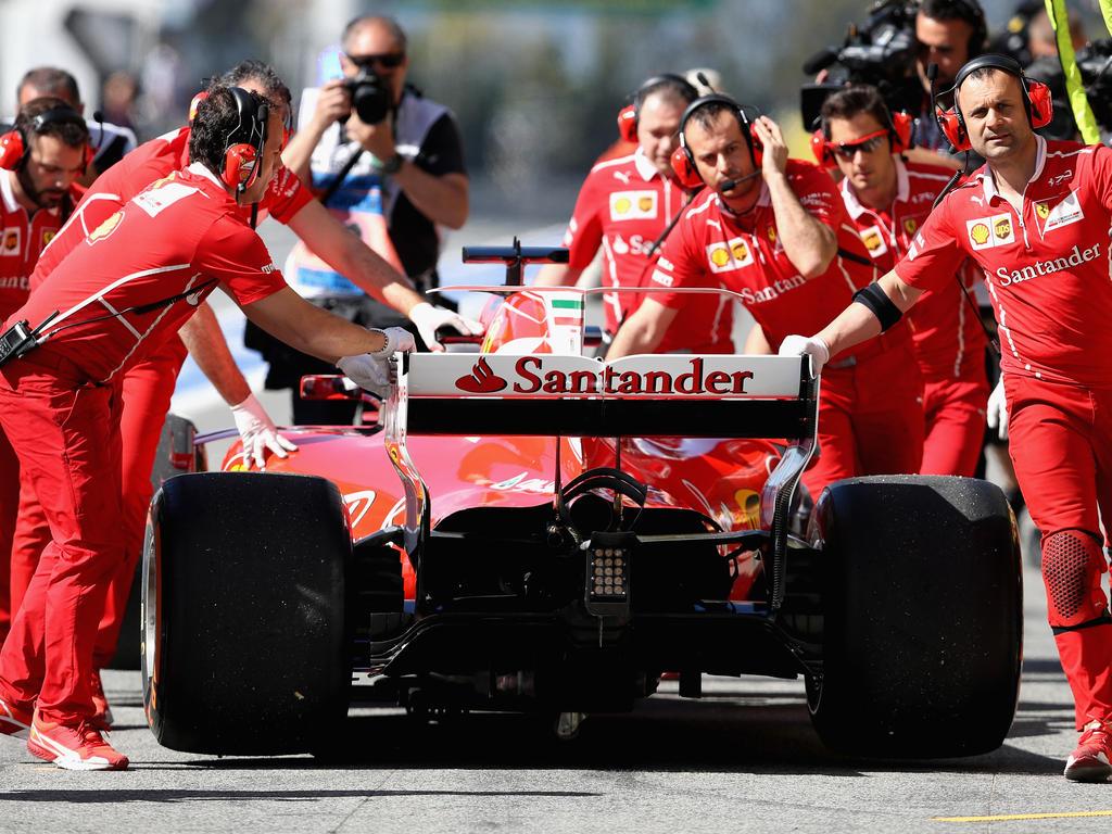 Ferrari legt 2017 bislang eine starke Saison hin