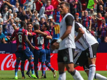 Con este punto el Levante y el Valencia suman seis puntos. (Foto: Imago)