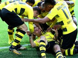 Philipp brilló con un doblete contra el Colonia. (Foto: Getty)