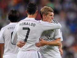 Cristiano Ronaldo und Toni Kroos wurden bei der Gala in London ausgezeichnet