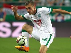 2013 mit der Austria Meister, demnächst mit Ferencváros: Emir Dilaver