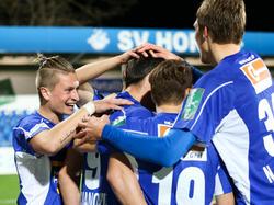 Der SV Horn will auch in der Ersten Liga jubeln
