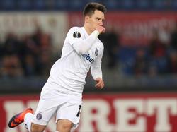 Dominik Prokop glänzte zuletzt als Torschütze in der Europa League gegen AS Roma