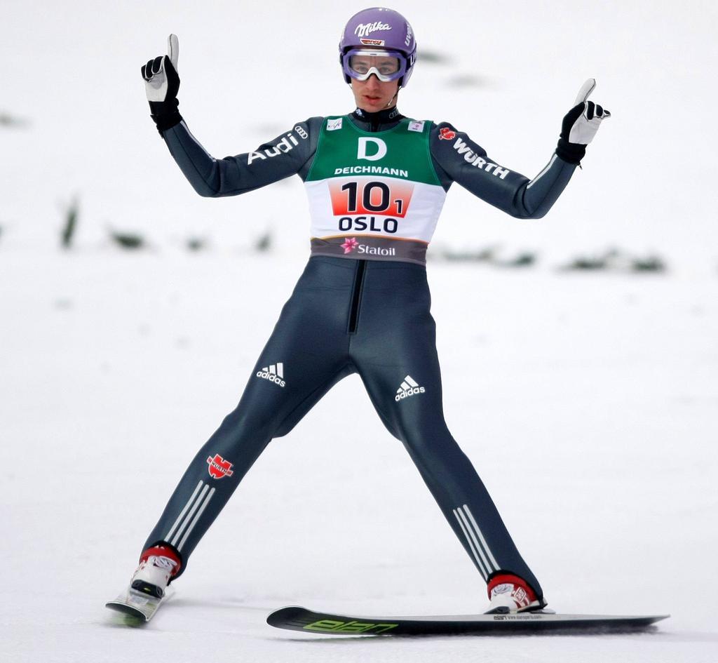 Platz 4: Martin Schmitt (Skispringen)