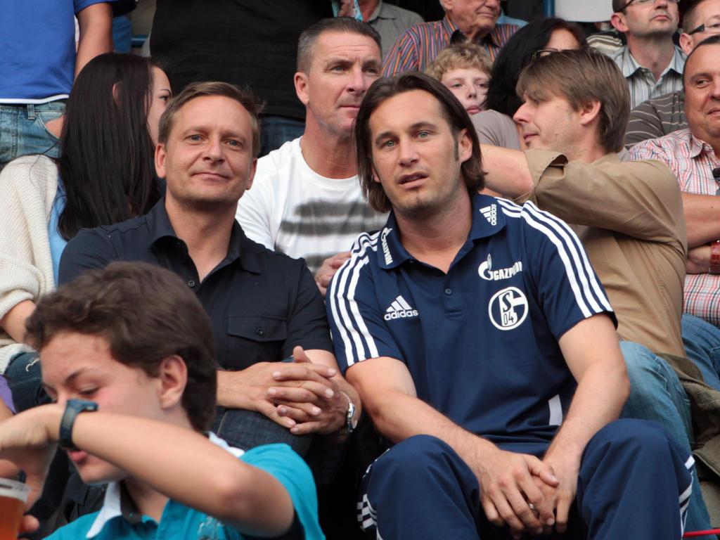 Horst Heldt und Gerhard Zuber arbeiteten schon bei Schalke zusammen