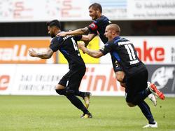 Der SC Paderborn durfte fünfmal jubeln