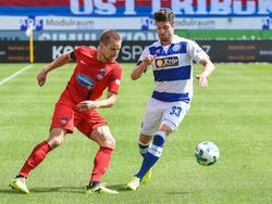 Der MSV Duisburg entführt drei Punkte von der Ostalb