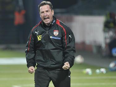 U21-Teamchef Werner Gregoritsch machte wieder einiges durch