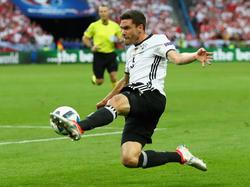 Jonas Hector ist beim DFB-Team auf der Linksverteidiger-Position gesetzt