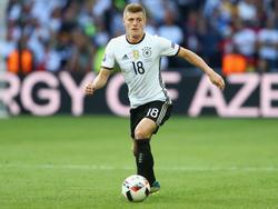 Ist im DFB-Dress mittlerweile unverzichtbar: Toni Kroos