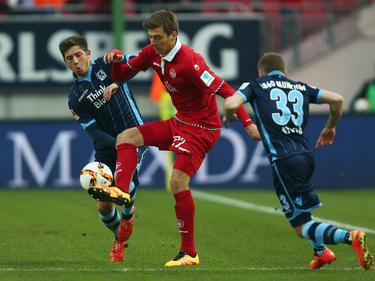 Maurice Deville wechselt auf Leihbasis zum FSV Frankfurt