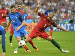 Portugal-Verteidiger Pepe war im EM-Finale einer der Erfolgsgaranten