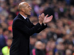 Zinedine Zidane, técnico del Real Madrid. (Foto: Getty)