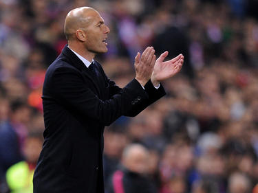 Zinedine Zidane, técnico del Real Madrid. (Foto: Getty)