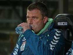 Ried-Trainer Christian Benbennek hat gehörig zu schlucken