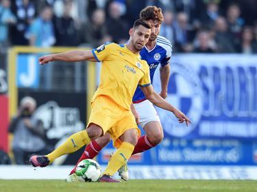 Keine Tore zwischen den Sportfreunde Lotte und Holstein Kiel