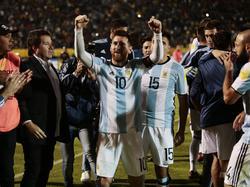 Lionel Messi sicherte Argentinien die WM-Teilnahme