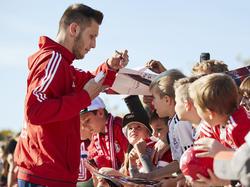 Niklas Süle ist bei den Bayern-Fans gefragt