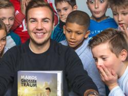 Götze hat ein Buch für Kinder geschrieben (Bildquelle: marios-grosser-traum.de)