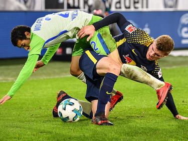 Der VfL Wolfsburg und RB Leipzig teilen sich die Punkte