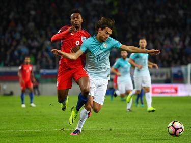 Daniel Sturridge und die Three Lions kamen gegen Slowenien nicht über ein 0:0 hinaus