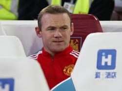 Wayne Rooney saß zuletzt häufiger auf der Bank
