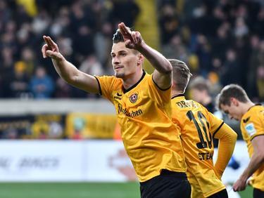 Stefan Kutschke traf doppelt für Dynamo