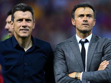 Juan Carlos Unzue (l.) wird Cheftrainer bei Celta Vigo