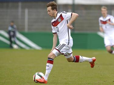 Lucas Cueto im Einsatz für die DFB-U-Teams