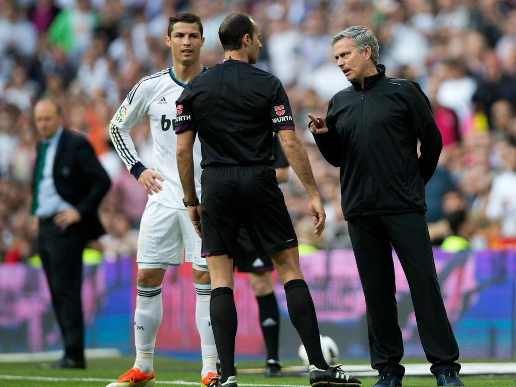 José Mourinho beschäftigt sich nicht mit einer Rückkehr von CR7 nach Manchester