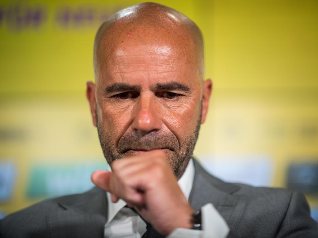 Peter Bosz plant im BVB-Training weiterhin mit Pierre Emerick Aubameyang