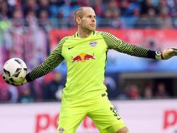 Steht beim Spiel gegen Frankfurt wieder im Leipziger Gehäuse: RB-Torwart Péter Gulácsi