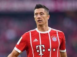 Robert Lewandowski möchte mehr Entlastung beim FC Bayern spüren