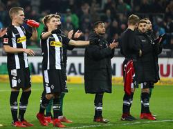 Die Gladbacher Mannschaft musste sich im Heimspiel gegen den HSV Pfiffe anhören