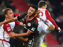 Der FC St. Pauli und Kaiserslautern trennen sich 0:0-Unentschieden