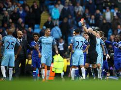 Viel Trubel in der Schlussphase zwischen Manchester City und dem Chelsea FC