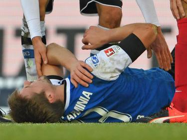 Julian Börner fällt mit einer Schultereckgelenksprengung länger aus