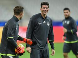 Mario Gomez will sich in der Nationalmannschaft durchsetzen