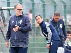 Bielsa puede dejar en breve de ser técnico del Lille. (Foto: Imago)