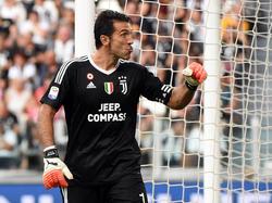 Gianluigi Buffon von Juventus Turin wurde von der UEFA ausgezeichnet