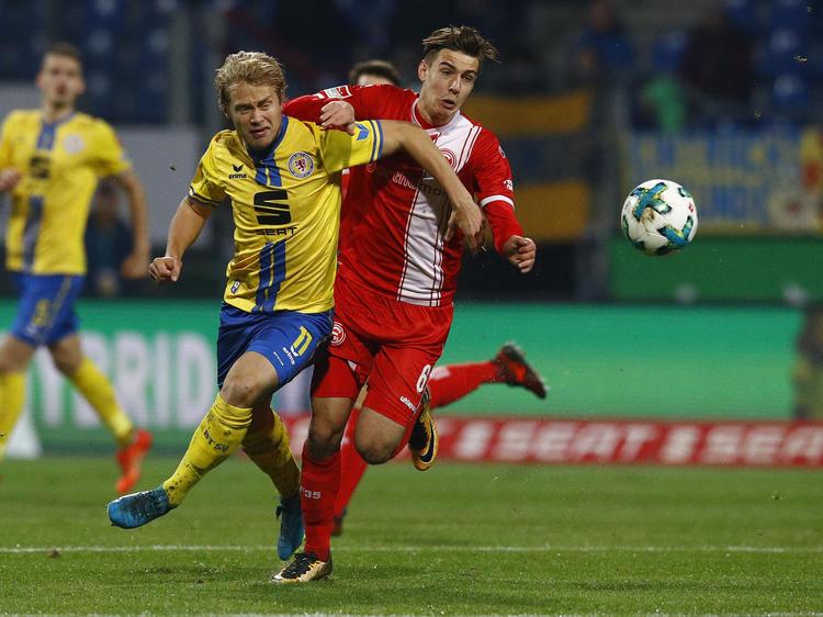 Die Düsseldorfer Fortuna ist zurück an der Spitze der 2. Bundesliga