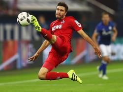 Jonas Hector ist vor dem Schlager gegen die Bayern guter Dinge