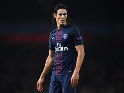Cavani, mejor jugador de la Ligue 1. (Foto: Getty)