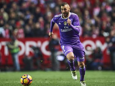 Karim Benzema traf gleich zwei Mal gegen Eibar