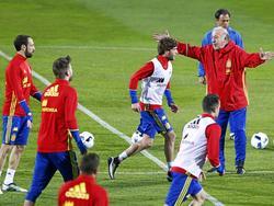 Europameister Spanien trainiert im Ländle