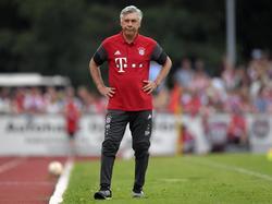 Carlo Ancelotti trainiert den FC Bayern