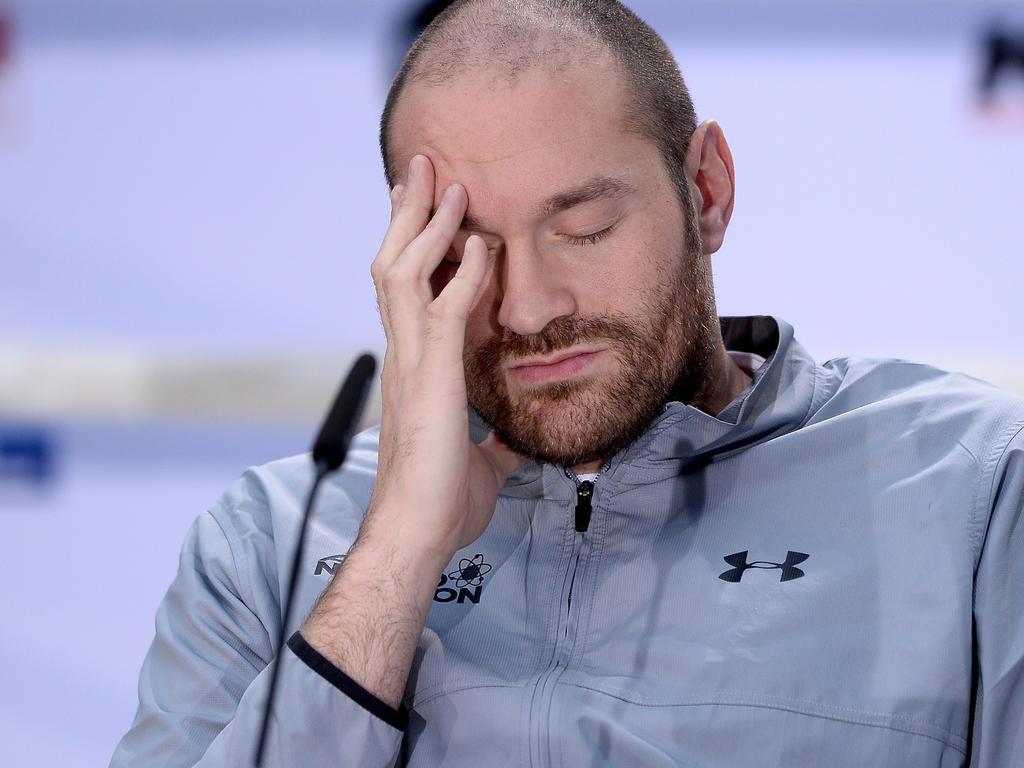 Tyson Fury droht der Verlust aller WM-Gürtel