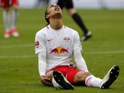 Yussuf Poulsen ärgerte sich über das Spiel seines Teams