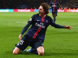 Adrien Rabiot sorgt für Paris Saint-Germain für Aufsehen